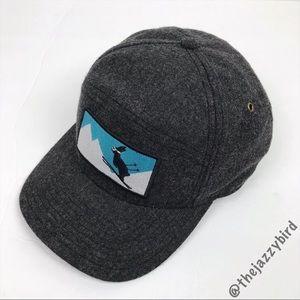 Pistil Charcoal Grey Wool Kicker Cap